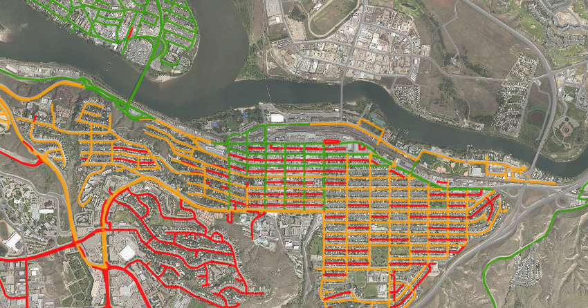 City of Kamloops launches new street sweeper map Kamloops Maps And Directions on rankin inlet map, british columbia map, jasper map, langley map, ft st john map, mount edziza map, fernie map, shuswap lake provincial park map, whistler map, st. catharines map, coquitlam map, coquihalla pass map, fraser valley regional district map, salmon arm map, summerside map, quesnel lake map, vancouver map, victoria map, gillam map, canadian rockies map,