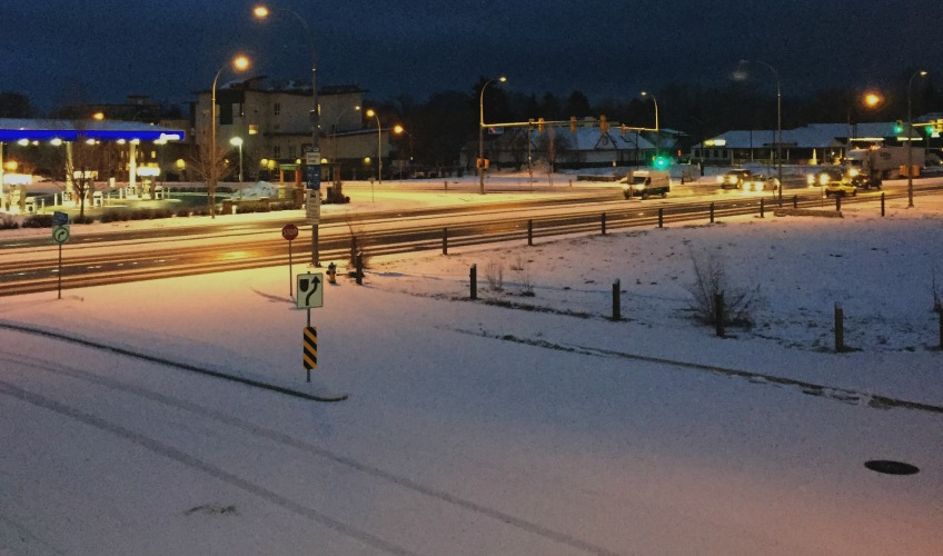 Snowfall warnings issued for interior mountain passes