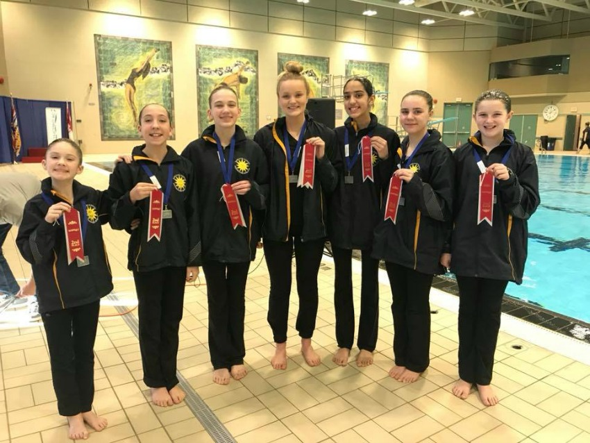 <who> Photo submitted</who> Silver medals for the National AG 13-15 team and Senor Solo