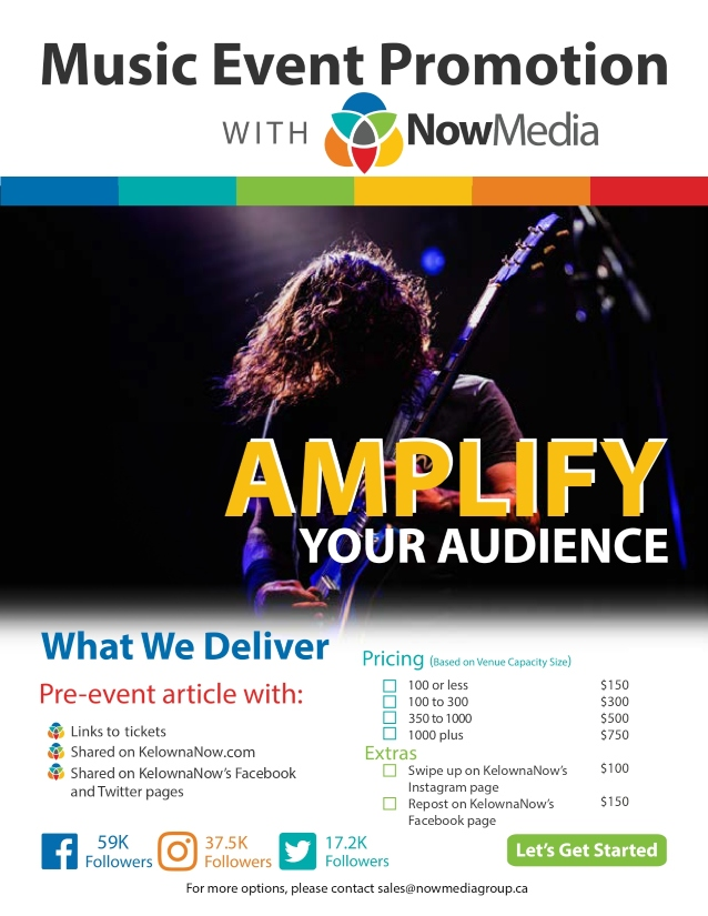 NowMedia Group music event promotion