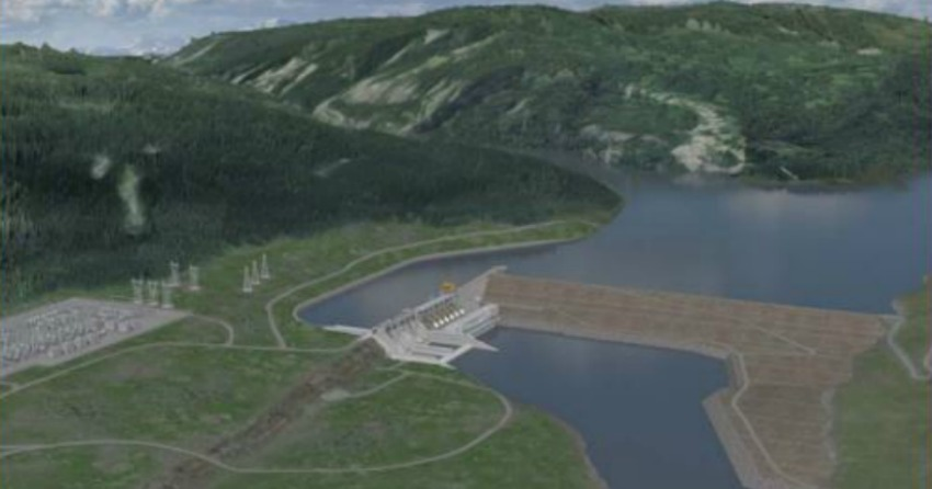 Here comes the flood: Site C approved. Again