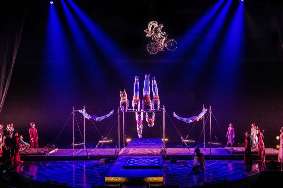 Cirque du Soleil's First Ever On-Ice Production Performing at the Resch