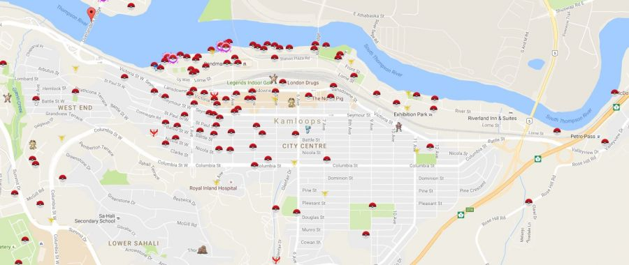 Tourism Kamloops encouraging Pokemon Go players to catch em' all