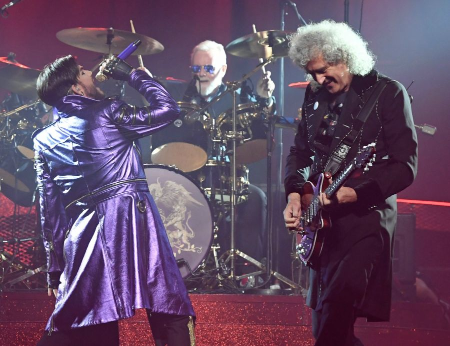 <who>Photo Credit: Getty Images</who>Queen + Adam Lambert