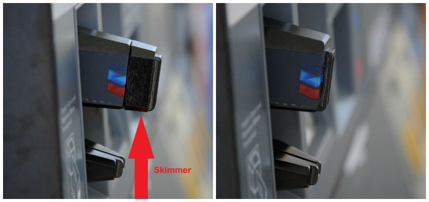 Gas Pump Credit Card Skimming Device