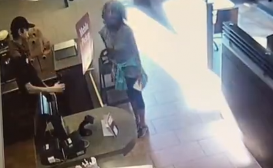 Woman arrested after disturbing feces-throwing incident at BC Tim Hortons