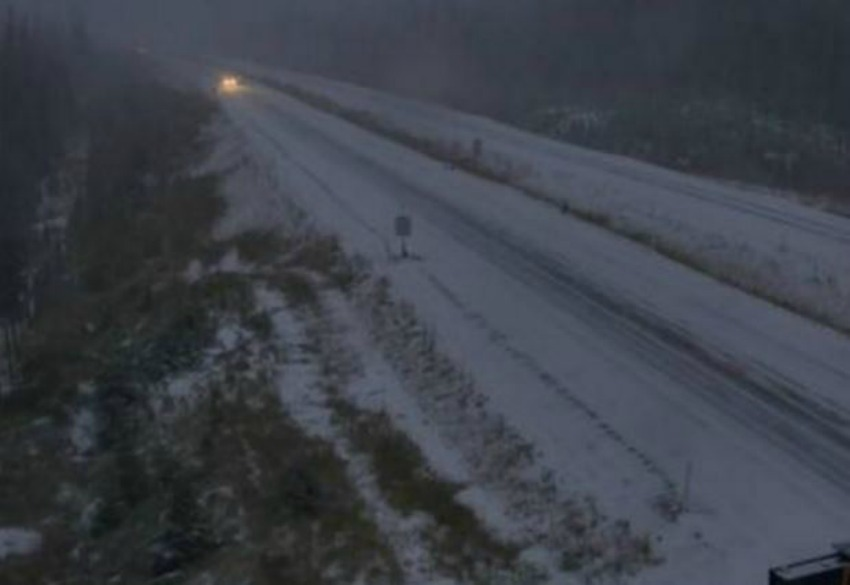 Snowfall on the Coquihalla Highway causes several accidents