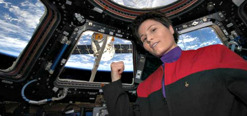 Epic Space Selfie at International Space Station