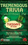 Tremendous Trivia Tuesdays at Carlos O'Bryan's Kamloops