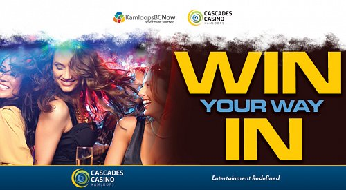 Closed - Contest Alert! Win Your Way into Cascades Casino's Grand Opening!