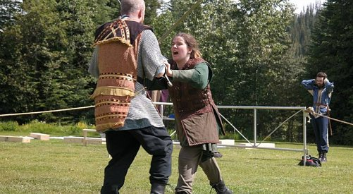 Medieval tournament hits Sun Peaks