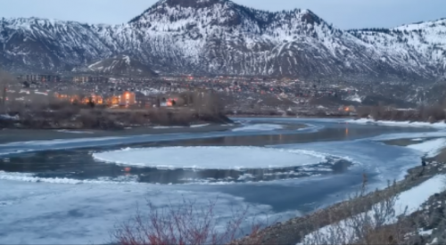 What is the 'Kamloops Ice Disk' and do you need to go see it?