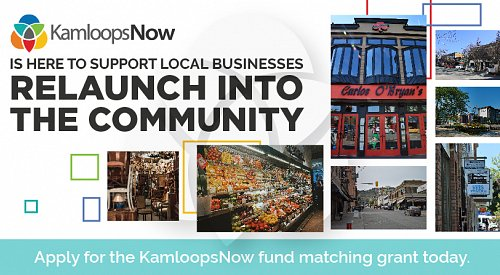KamloopsNow announces restart fund matching grant for local businesses