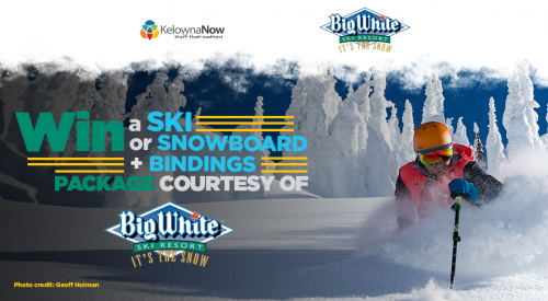 Contest closed! Win a snowboard or skis with bindings just in time for winter