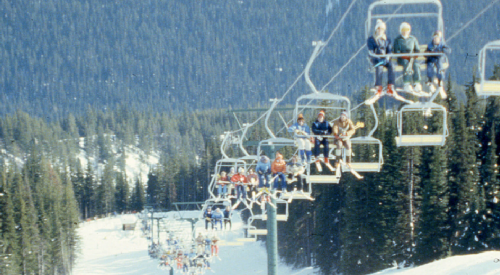 Sun Peaks is selling a piece of its history