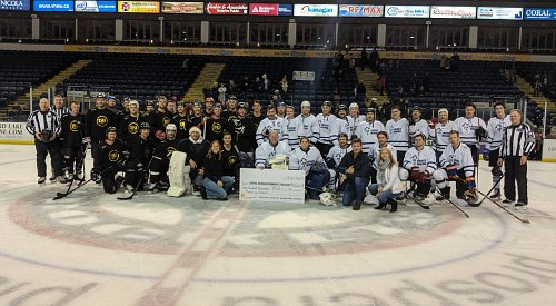 Kelowna businesses and NHL alumni pair up to raise $100K for food bank