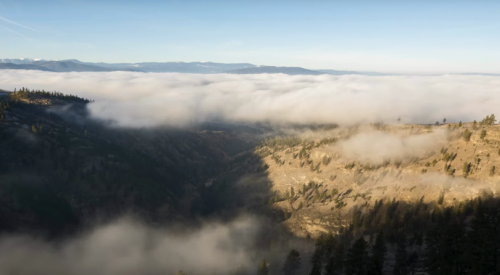 VIDEO: A foggy inversion of the Okanagan