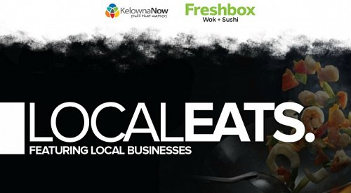 Contest Alert! Win a $100 Gift Card to the Local Eats Monthly feature: Freshbox Wok + Sushi