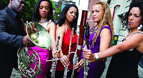 Chamber Music presents a free demonstration with Imani Winds