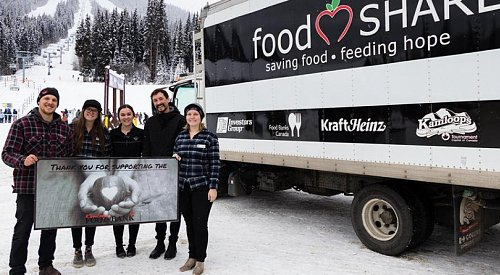 Sun Peaks' High Five Day raises over $10,000 for Kamloops Food Bank