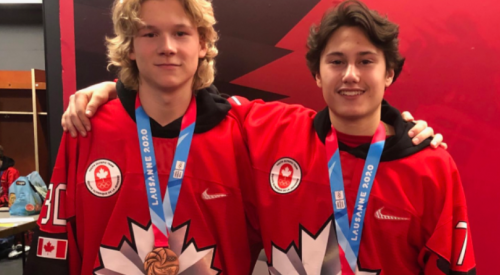 Blazer prospects take home bronze with Team Canada at 2020 Youth Olympics
