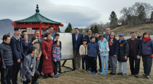Kamloops Monument recognizes contributions of Chinese Canadians in B.C.