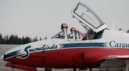 Canadian Forces Snowbirds cancel airshows to train