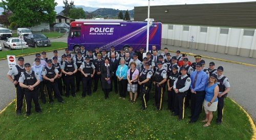 Alexa's Team gains four Kamloops officers