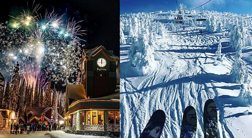 Fresh snow and fireworks on tap at Big White today
