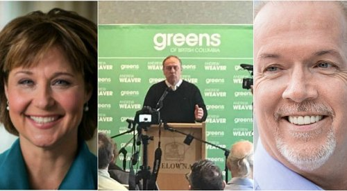 Leadership uncertain following closest election in history of B.C.