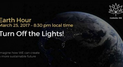 Lights out across the world for #EarthHour