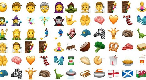 More new emojis are coming in June