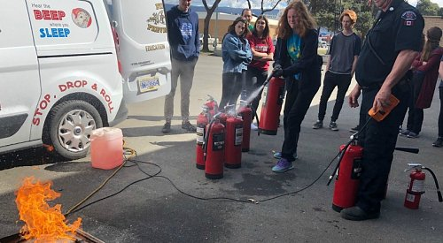 VIDEO: Boot camp ignites interest in firefighting