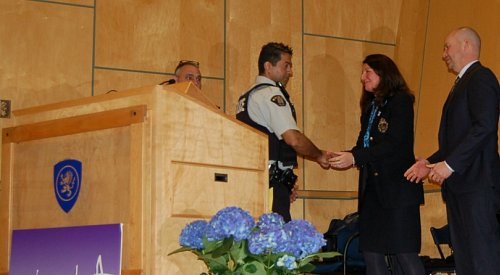 Top cop in BC awarded for most impaired driver investigations