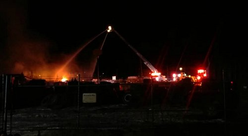 Second fire this week destroys business in Mount Paul Industrial Park