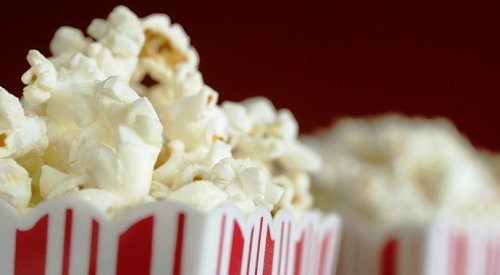 Cineplex is giving away free popcorn at all its theatres tomorrow
