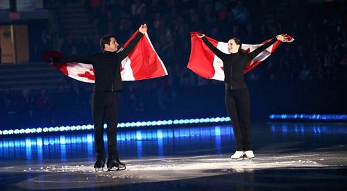 Tessa Virtue, Scott Moir, Patrick Chan and others return to the Okanagan this fall