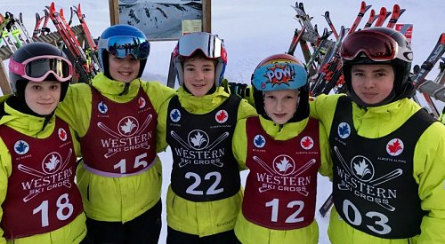 Big White Ski Club find the podium in Alberta powder