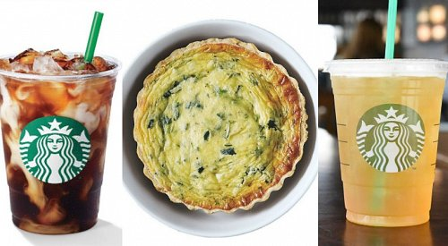 5 new items hit the Starbucks menu for spring