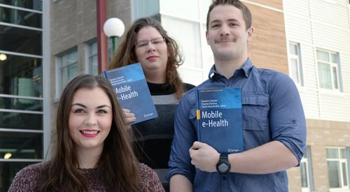 UNBC students and faculty work together on health research project