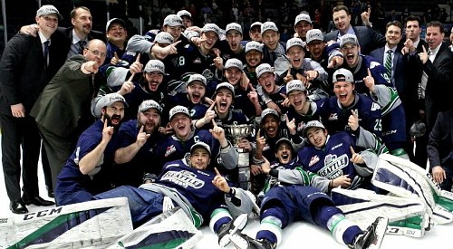 The Seattle Thunderbirds are WHL champions