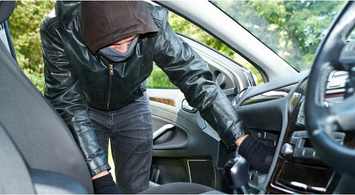 120 reports of thefts from cars during first half of May