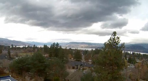 Central Okanagan under strong wind warning