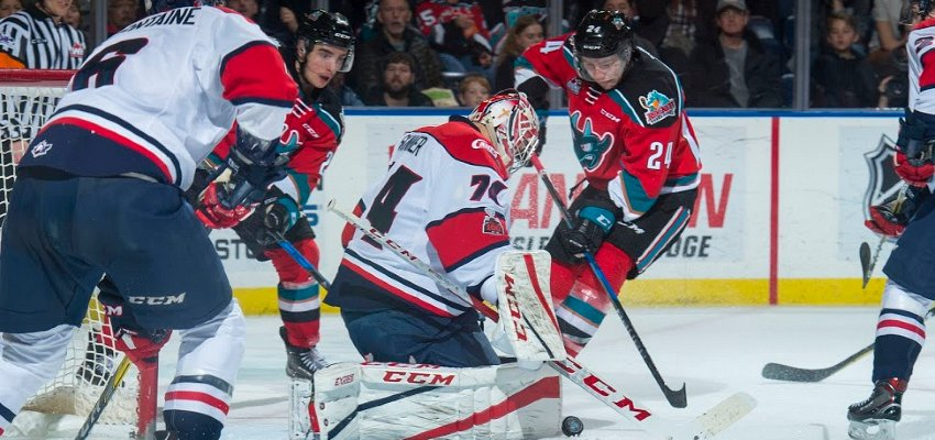 Rockets snap win streak with loss to Hurricanes
