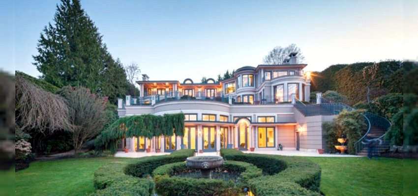 PHOTOS: Record breaking Vancouver mansion hits the market