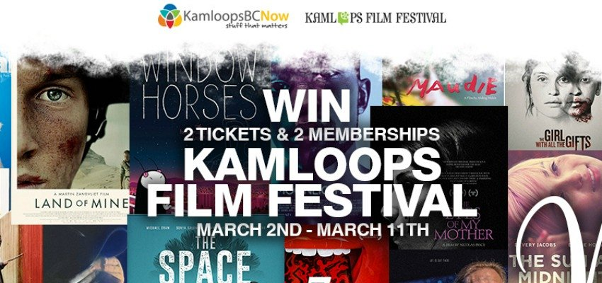 Closed - Flash Contest Alert! Win Entrance to the Kamloops Film Festival!