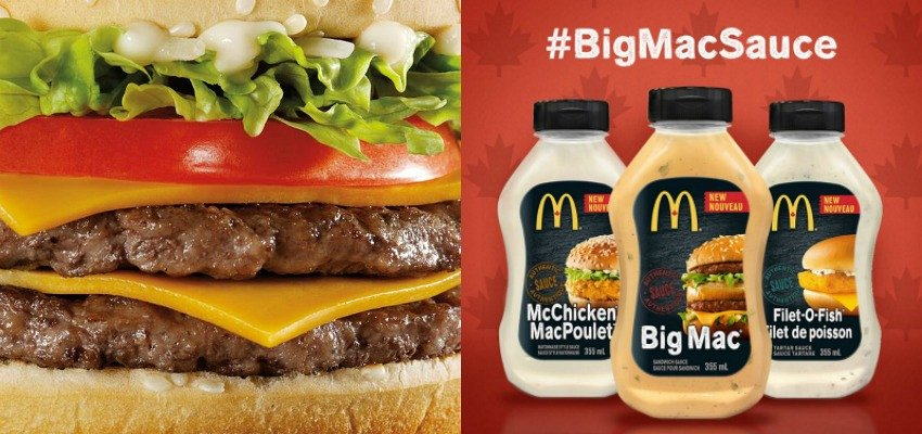 McDonald's bringing famous sauces to store shelves
