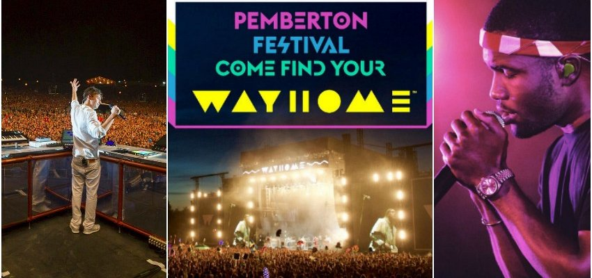 Toronto's WayHome Music Festival offering free admission to Pemberton ticket holders